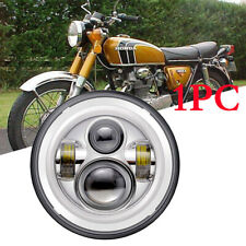 FOR Honda CB 250 350 400 500 650 900 Shadow 750 Spirit 1100 CHROME LED HEADLIGHT