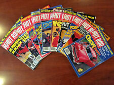 Hot Rod Magazine - Volume 34 - 1981 - 11 Issues