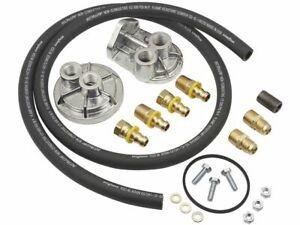For Chevrolet C10 Pickup Oil Filter Remote Mounting Kit Mr Gasket 31479MK