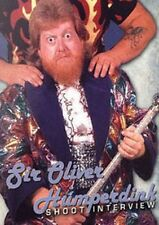 Sir Oliver Humperdink Shoot Interview Wrestling DVD