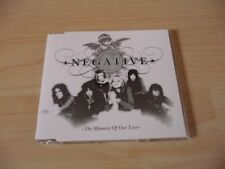 Maxi CD Negative - The moment of our love - 2005
