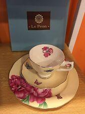 Miranda trios tea set (yellow): Tea Cup, Saucer, And Plate/Great Discount