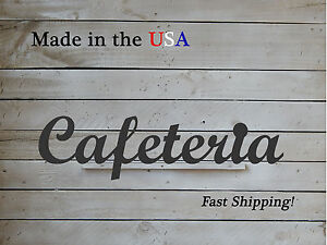 Cafeteria Sign, Restaurant/Lunchroom Decor, Business Art, W1074