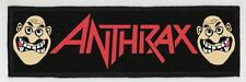 ANTHRAX SUPERSTRIP PATCH / SPEED-THRASH-BLACK-DEATH METAL