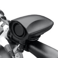 Ultra-loud Speaker Black Electronic Bicycle 6 Sound Alarm Bell Bike Siren Horn A