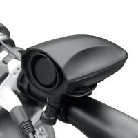Ultra-loud Speaker Black Electronic Bicycle 6 Sounds Alarm Bell Bike Siren Horn、