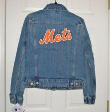 e8f94c27b5043 Size M Levi s New York METS Women s Denim Jean Jacket ...