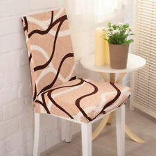 Bird Nest Pattern Stretch Dining Stool Chair Cover Banquet Seat Slipcover