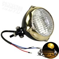Universal Motorcycle Retro Front Head Light Headlamp For Harley Choppers Suzuki
