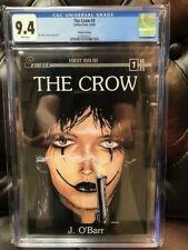 THE CROW #1 CGC 9.4 NM Near Mint Caliber Press 2nd Print 1989 James O'Barr