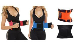 Gym Adjustable Sauna Sweat Belt Body Shaper Ladies Men Waist Trainer Vest *NEW*