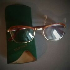 Glasses Mount Gold Solid Years 50 Marked Amor Frame France