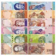 Venezuela 6 uncirculate bank note
