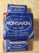 Monsavon Au Lait Soap -200g - Pack of 4