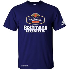 Classic Rothmans Honda Motor Bike Le MANS Inspired T SHIRT