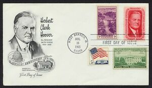 #1269 5c Herbert Hoover-Combo, Artmaster-Add FDC ANY 5=
