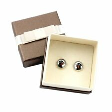 Beauceron. Pet in your ear. Earrings with box. Photojewelry. Handmade. Ca