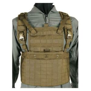 Blackhawk STRIKE Commando Lightweight RRV Recon Chest Rig Harness, Coyote Tan