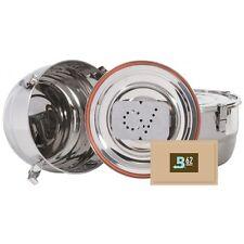 CVault 2L VakuumDose Stash Storage Container HumidityControl +67g Boveda 62%
