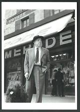 Robert Doisneau : Jacques Prévert, 1955 - cartolina formato 10,5 x 15 del 1995