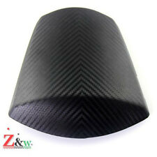Carbon Grain Groove Rear Seat Cowl Cover For Suzuki K11 GSXR 600 750 2011-2015