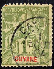 Timbre GUYANE FRANCAISE / FRENCH GUYANA Stamp - Yvert Tellier n°42 Obl (Col4)