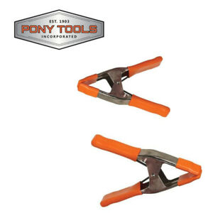 Pony 3203-HT Steel Spring Clamp (2 Piece), 3-Inch NEW, Made in the U.S.A.