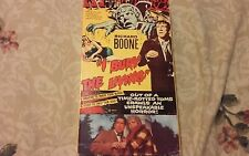 I Bury the Living VHS tape Richard Boone scary 1990
