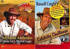Russell Coight's All Aussie Adventures Series 1-2 / Celebrity Challenge :NEW DVD