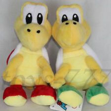 2X Super Mario Character 6.5'' Green And Red Tortoise Stuffed Animal Plush Toys