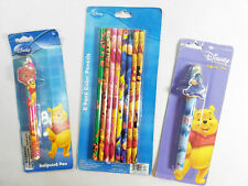 Lot of Disney Winnie The Pooh 8 Pack Color Pencils and Pens New