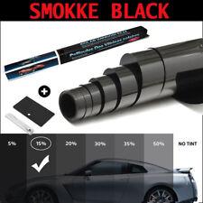 CAR WINDOW TINT FILM TINTING DARK BLACK SMOKE 15% 76cm x 6M NEW