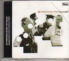 (CD675) The Beautiful New Born Children, Hey People! - DJ CD