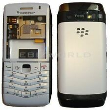 Brand New Blackberry Pearl 9105 3G Full Body Housing Panel Fascia - White