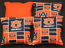 Auburn Tigers Cornhole Bean Bags Baggo Toss Tailgate Game 4 Aca Regulation Bags
