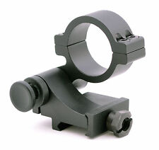 90 degree Quick Flip to Side FTS Mount for 30mm RD Magnifier Scope Cowitness HT