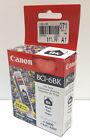 Canon BCI-6BK Black Ink Tanks GENUINE NEW Inkjet Cartridge for BJC-8200, S800