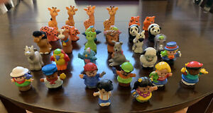 Fisher Price Little People And Zoo Farm Animals Lot