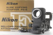[N Mint] Nikon Bellows PB-6 w/ PS-6 Slide copying Adapter from Japan ♯110
