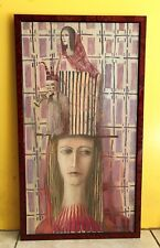 Composition by Dmitry Zenkovich Original Oil on canvas signed by the artist 1993