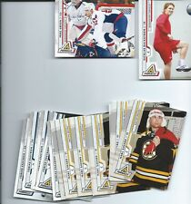 2010-11 PINNACLE HOCKEY CARDS COMPLETE YOUR SET YOU PICK 20 CARDS STARS INC