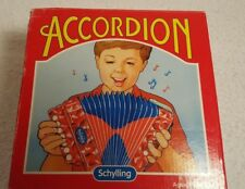 ACCORDION CHILDRENS MUSICAL INSTRUMENT SCHYLLING 1995 FUN LEARNING MUSIC POLKA