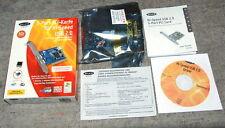 BELKIN F5U219 3 (2+1) ports USB 2.0 PCI controller card NEC D720101GJ BULK NEW