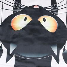 DIY Fashion Funny Novelty Cat Waterproof Shower Curtain Bathroom Curtain Hook