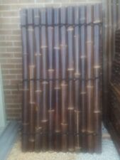 BAMBOO FENCE PANEL 1.8M x 1M - DOUBLE Lacquered (Large Strips) Sydney NSW
