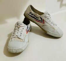 Tiger Claw White Feiyue High Top Shoes - Size 42