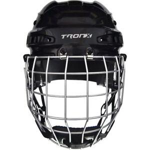 TronX Comp Hockey Bull Riding Helmet Combo With Cage