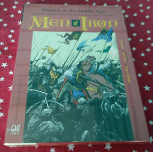 Men of Iron - Warfare in the Middle Ages - GMT Games Factory Shrink Wrapped Copy