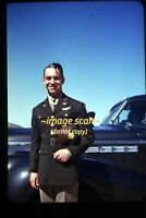 WWII USAAF B-24 Man in California in early 1940's, Original Slide g7c