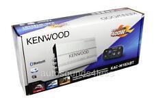 Kenwood KAC-M1824BT 400 vatios 4 canales barco Marina ATV Amplificador Bluetooth Nuevo